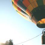 balloon symbolises losing control
